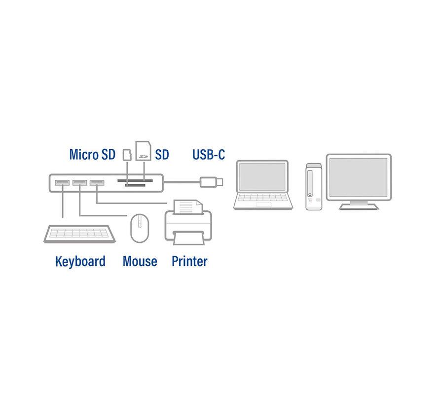 ACT AC7051 USB-C to USB-A Hub