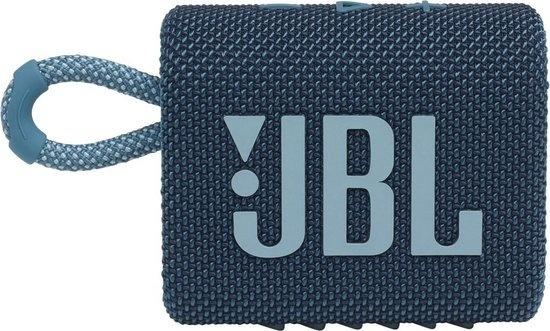 JBL Go 3 Blauw Bluetooth Speaker