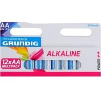 Grundig Grundig Alkaline Batterij AA 12pack
