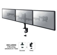 "Neomounts by Newstar Neomounts by Newstar NeoMounts Flat Screen Desk mount (10-27"") desk clamp/grommet"