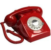 GPO Retro GPO DECT Telefoon 746ROTARYRED