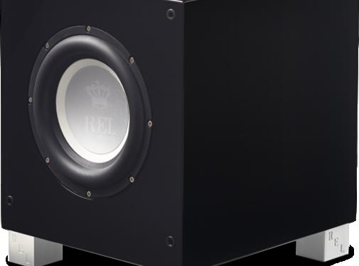 REL Acoustics Rel Subwoover T7i Zwart