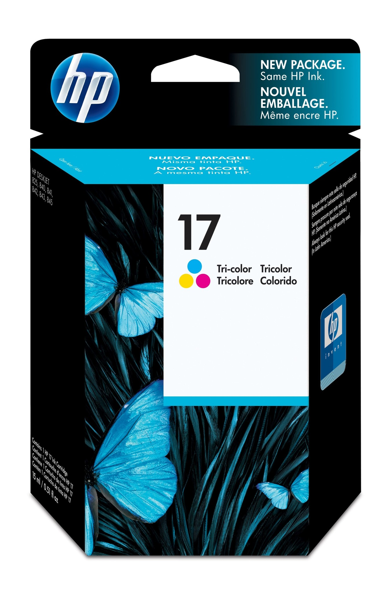 HP Inktcartridge 17 Kleur