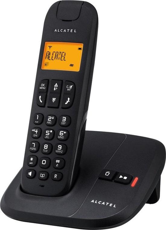 Alcatel Delta 180 Voice Dect Huistelefoon Zwart