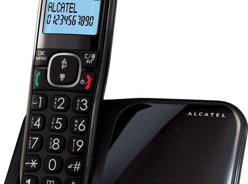 Alcatel Alcatel XL280 Solo Dect Huistelefoon Zwart