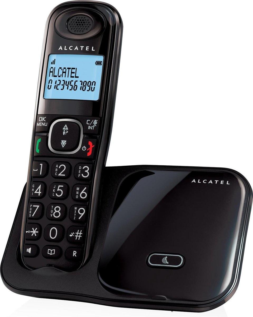 Alcatel XL280 Solo Dect Huistelefoon Zwart