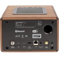 Sonoro Sonoro 31911AW Smart Radio Antraciet/ Walnoot