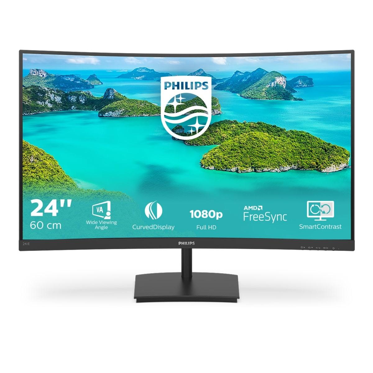 Philips 23.6 inch Monitor (241E1SC)