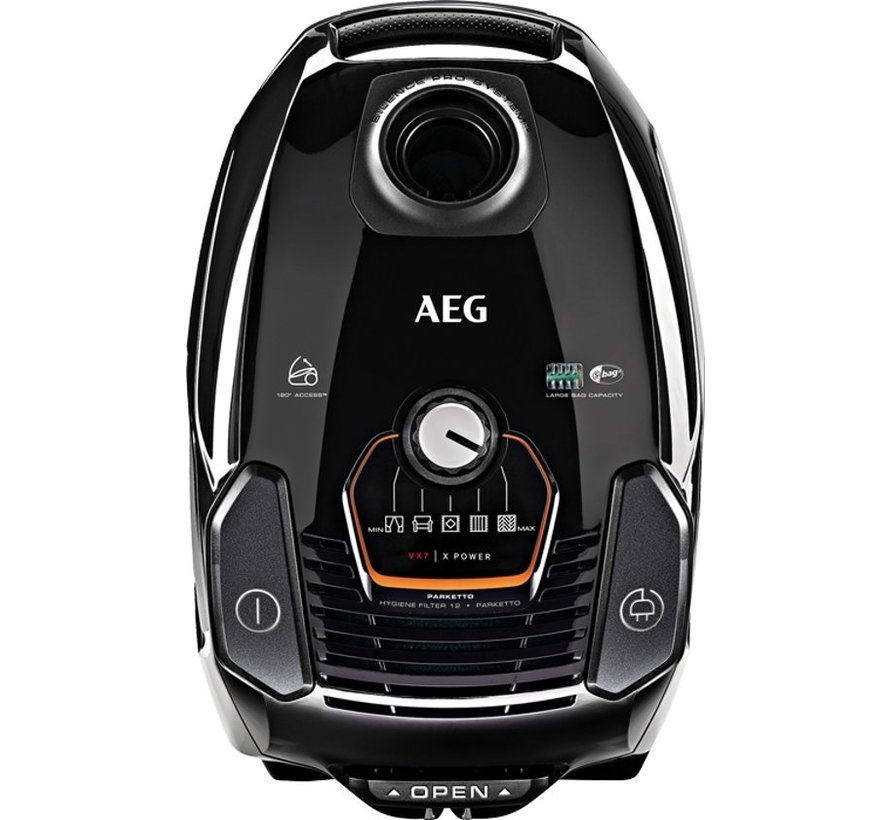 AEG VX7-2-EB-P Stofzuiger met zak