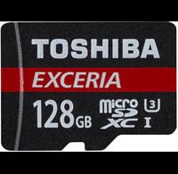 Toshiba Toshiba EXCERIA 128GB Micro SDXC geheugenkaart