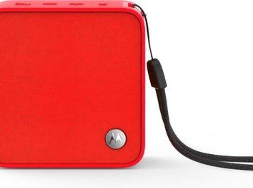 Motorola Motorola SonicBoost 210 Bluetooth speaker Rood