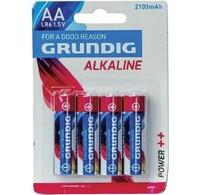 Grundig Grundig Alkaline Batterij AA 4pack