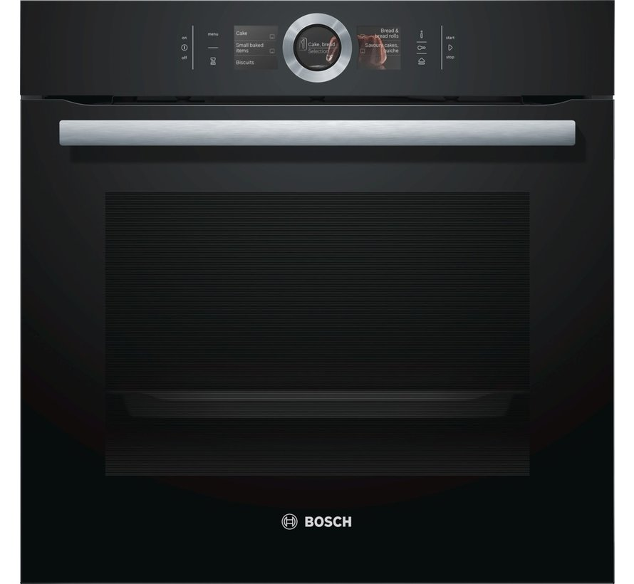 Bosch HSG636BB1 AddedSteam Inbouw oven met stoom 60cm