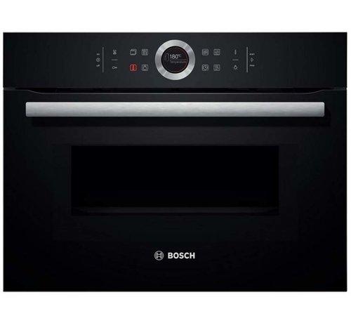 Bosch Bosch CMG633BB1 Inbouw oven met magnetron 45cm