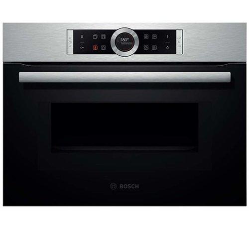Bosch Bosch CMG633BS1 Inbouw oven met magnetron 45cm