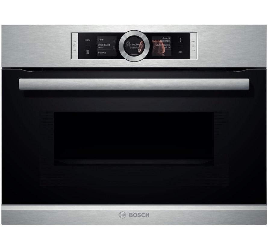 Bosch CMG636NS2 Inbouw oven met magnetron 45cm