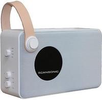 Scansonic HD Scansonic PA4600wit FM/DAB+ bluetooth radio