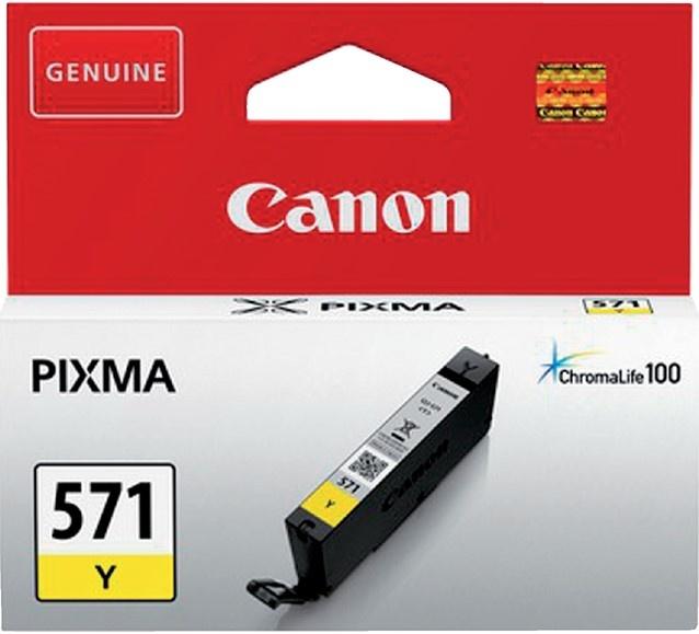 Canon Cartridge Yellow Nr. 571 CLI571Y