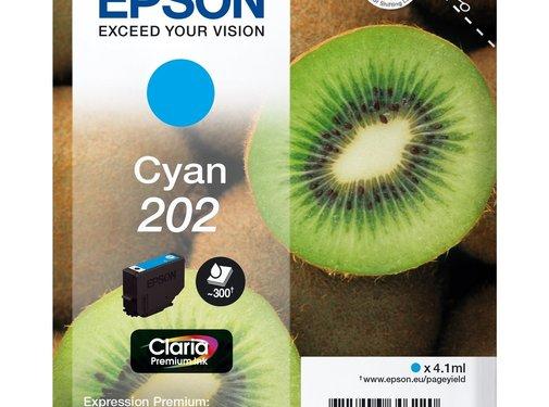 Epson Epson Inktcartridge 202 Cyan