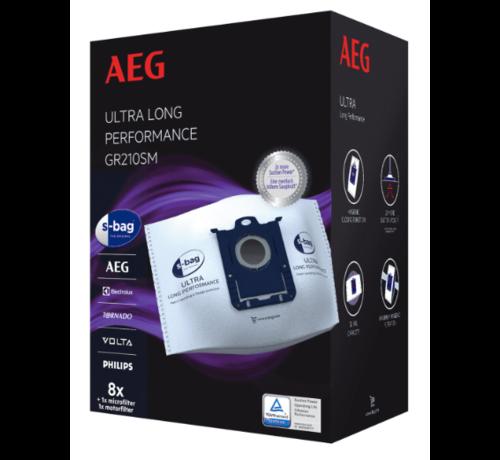 AEG AEG GR210SM S-Bag Ultra 8 stuks Stofzuigerzakken