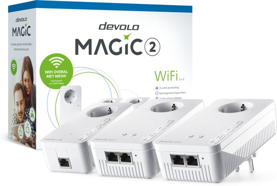 Devolo 8396 Magic 2 WiFi Multiroom Kit Powerline