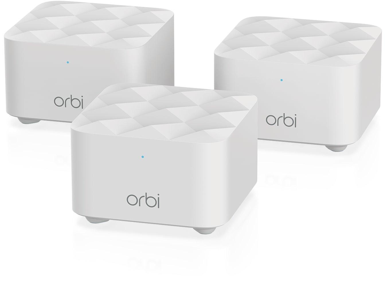 Netgear Orbi RBK13 Multiroom WiFi 5 Mesh systeem (3 Pack)