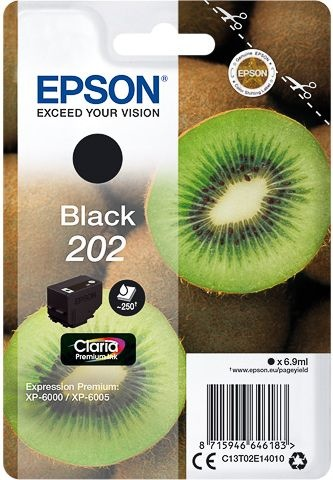 Epson Inktcartridge 202 Zwart
