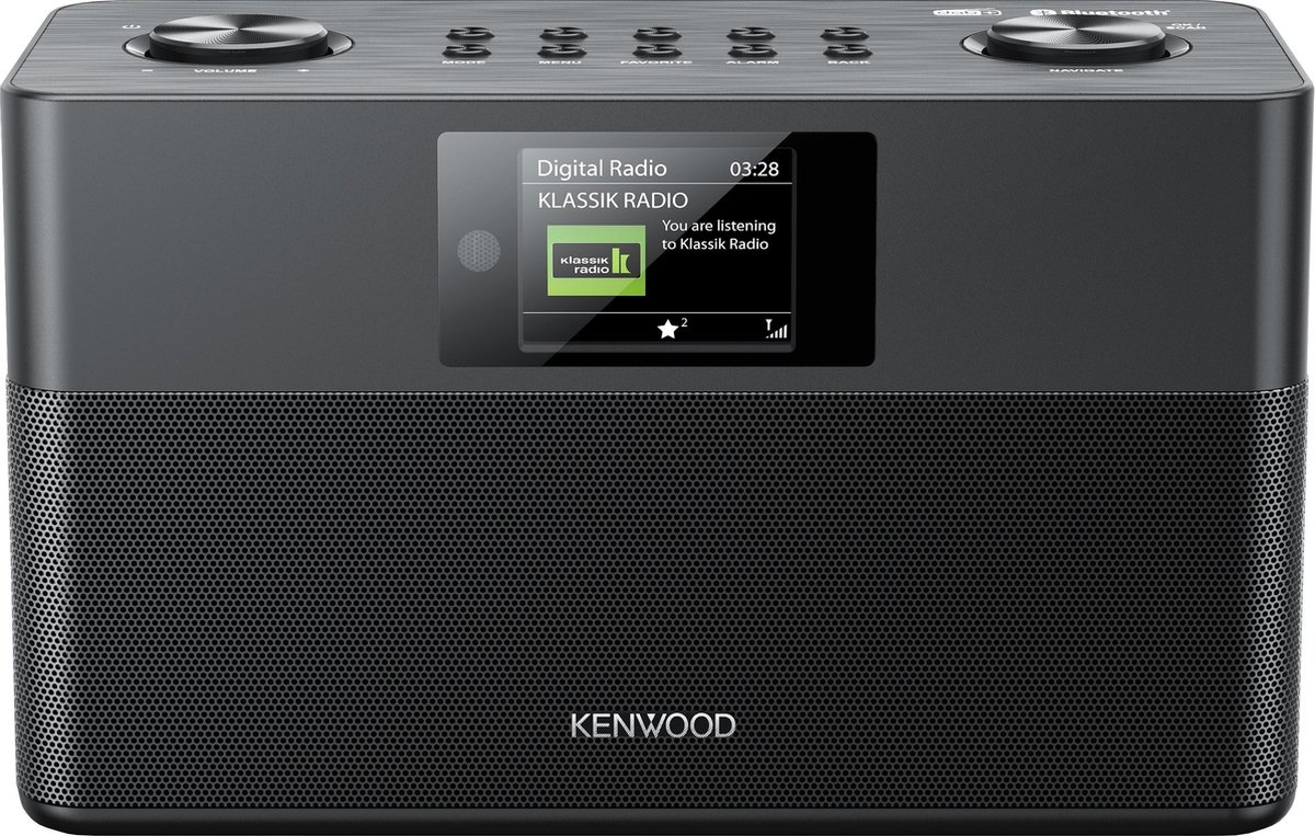Kenwood CR-ST80DAB-B DAB+ radio
