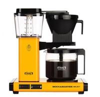 Moccamaster Moccamaster KBG Select Yellow Pepper koffiezetapparaat met glaskan