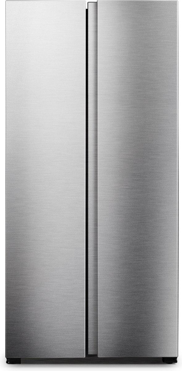 Exquisit SBS48-010FINOX Amerikaanse koelkast - BoXXer