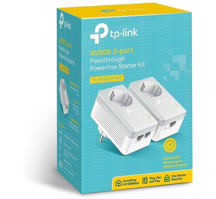 TP-Link Powerline AV600 (TL-PA4022PKIT)