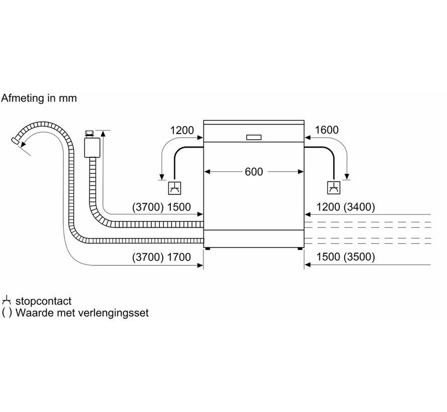 Bosch SGS2HTI72E Vrijstaande Vaatwasser
