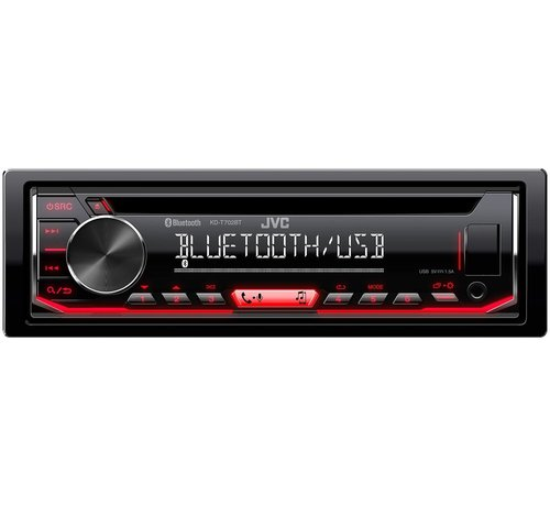 JVC JVC KD-T702BT Autoradio met bluetooth