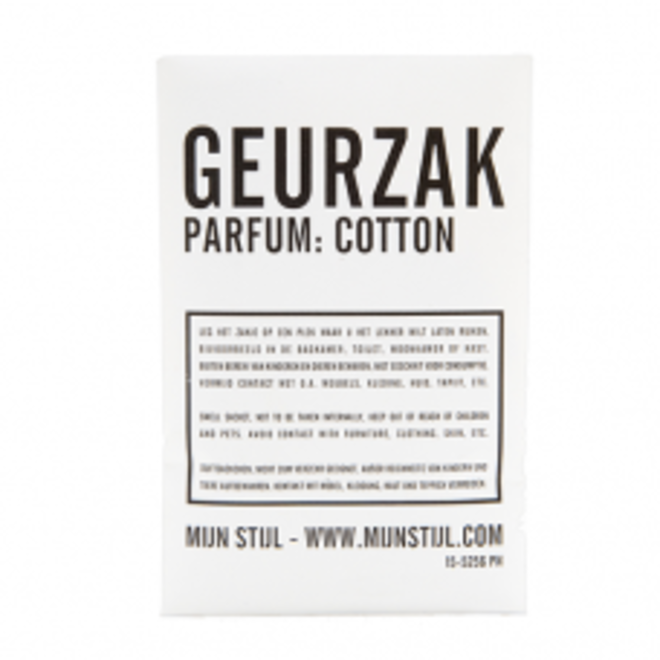 Geurzakje -  Cotton