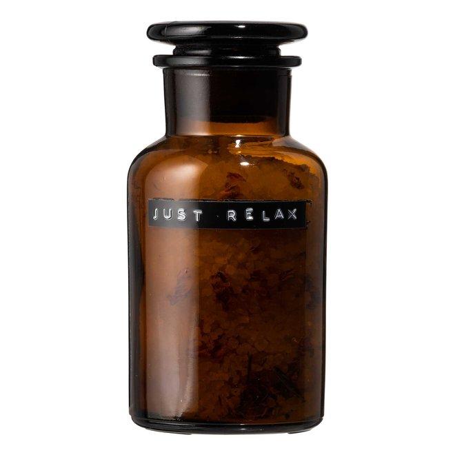 Bath Salts donker glas Rosés