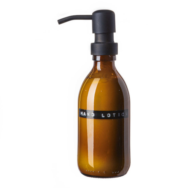 Hand lotion donker glas
