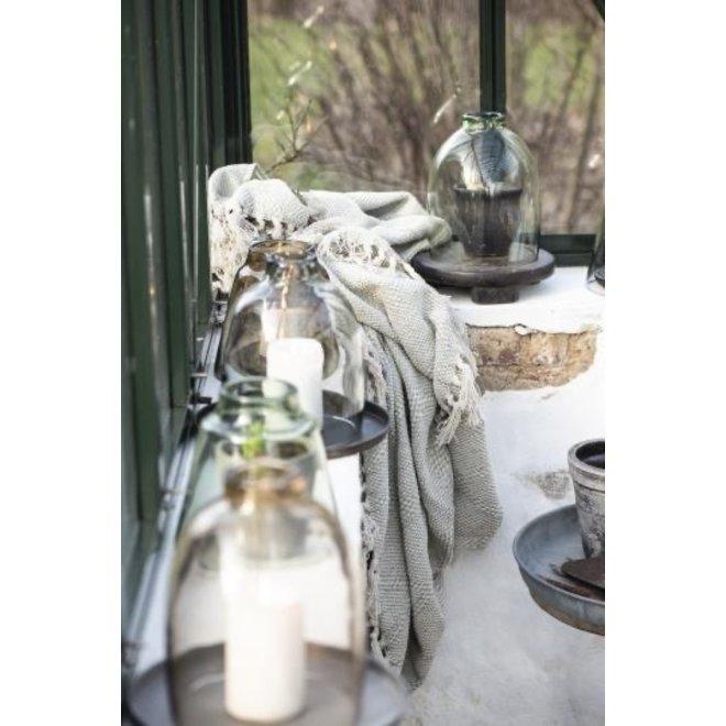 Windlicht - Bruin - Glas