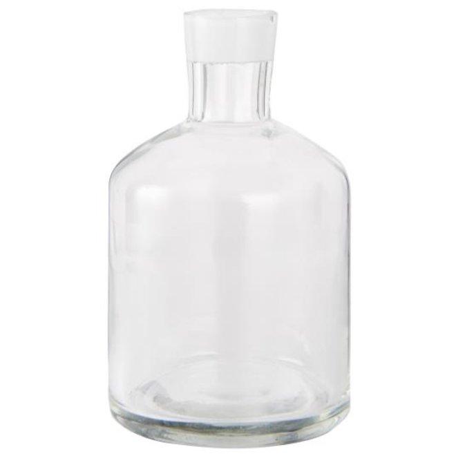 Kaarsje houder / vaasje glas