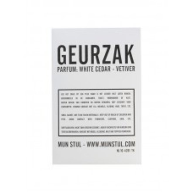 Geurzak White Cedar - Vetiver