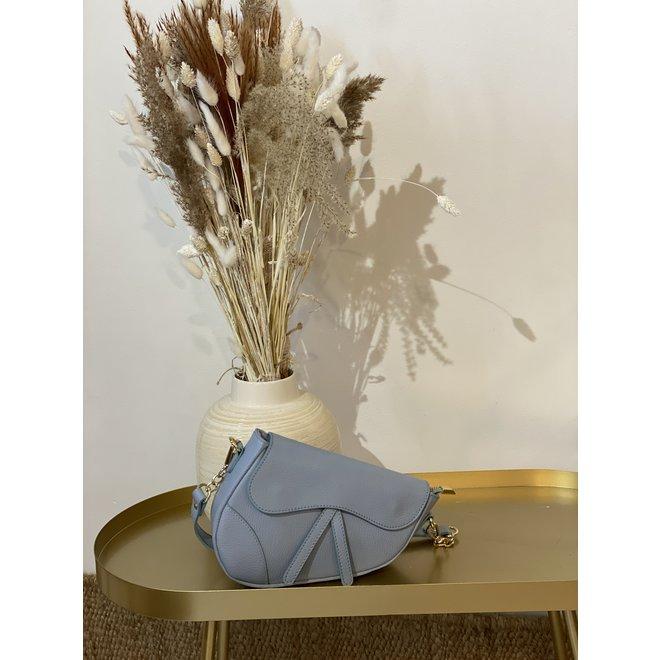 Tas Gigi - Classic grain - Blauw