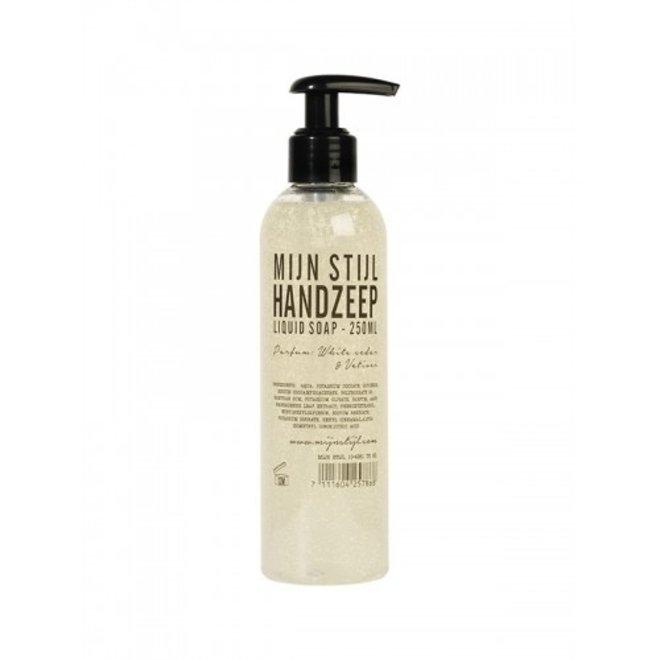 Hand zeep 250 ml White cedar & Vetiver