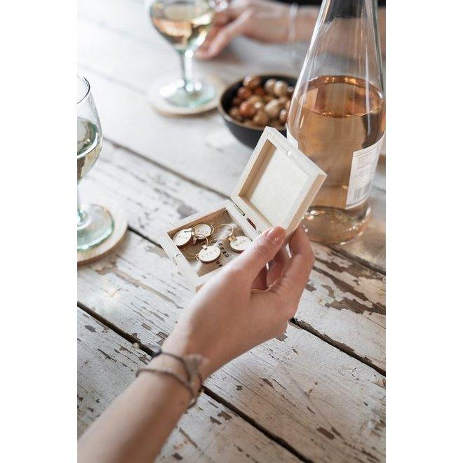 Wijnglas hangers