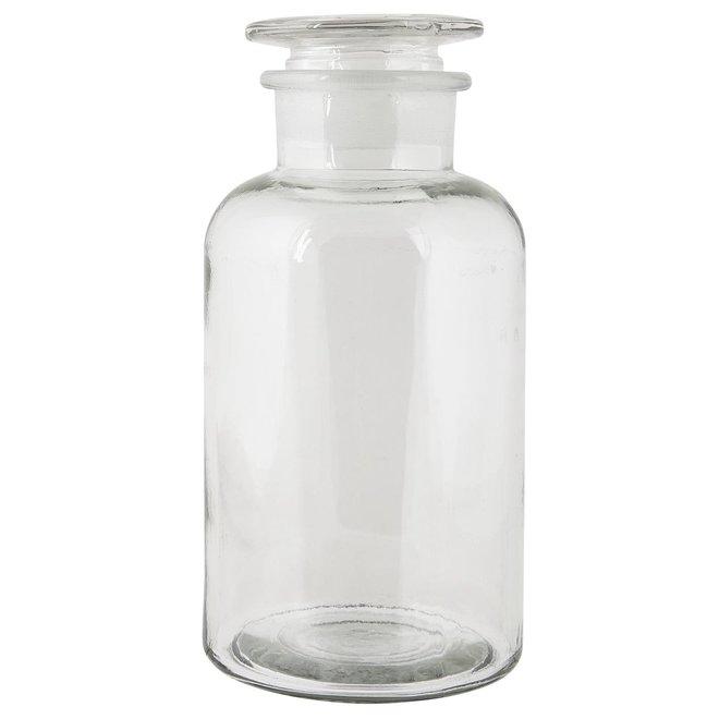 Apotheek fles - brede hals