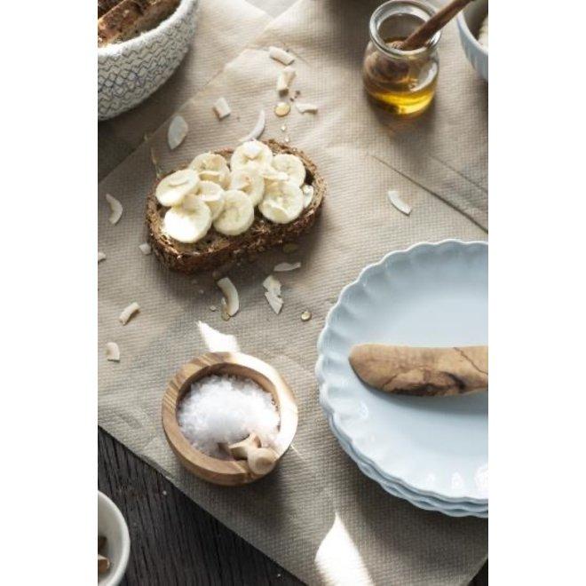 Mini houten  kom  olijvenhout