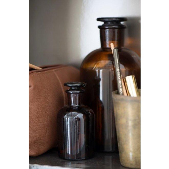 Apothekers flesje bruin glas - small