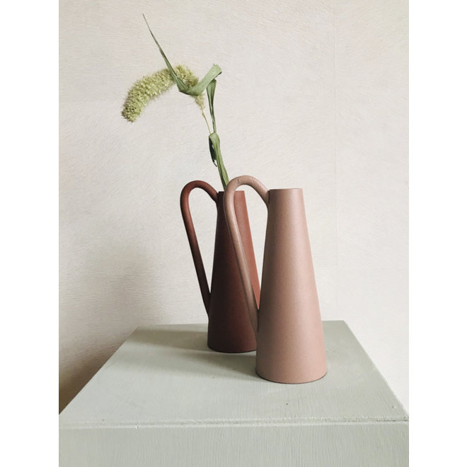 Kandelaar Amy roze 18 cm