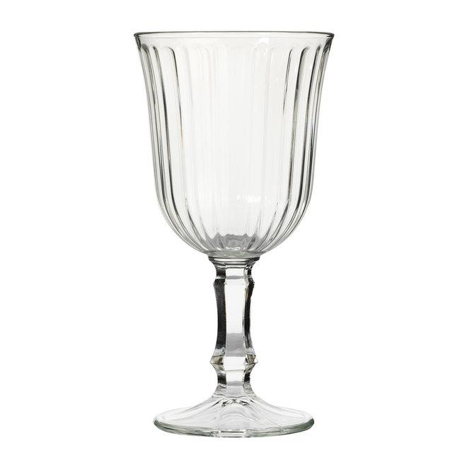 Glas voor water of wijn