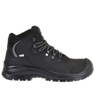 Sixton Sixton Corvara Outdry Werkschoenen Zwart Hoog S3
