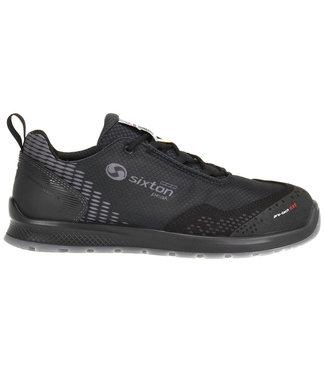 Sixton Sixton Auckland Sneaker Werkschoenen Zwart Laag S3