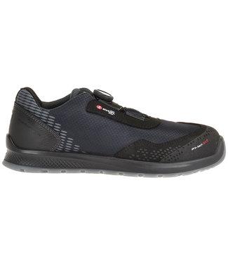 Sixton Sixton Newport Sneaker Werkschoenen Boa Zwart Laag S3
